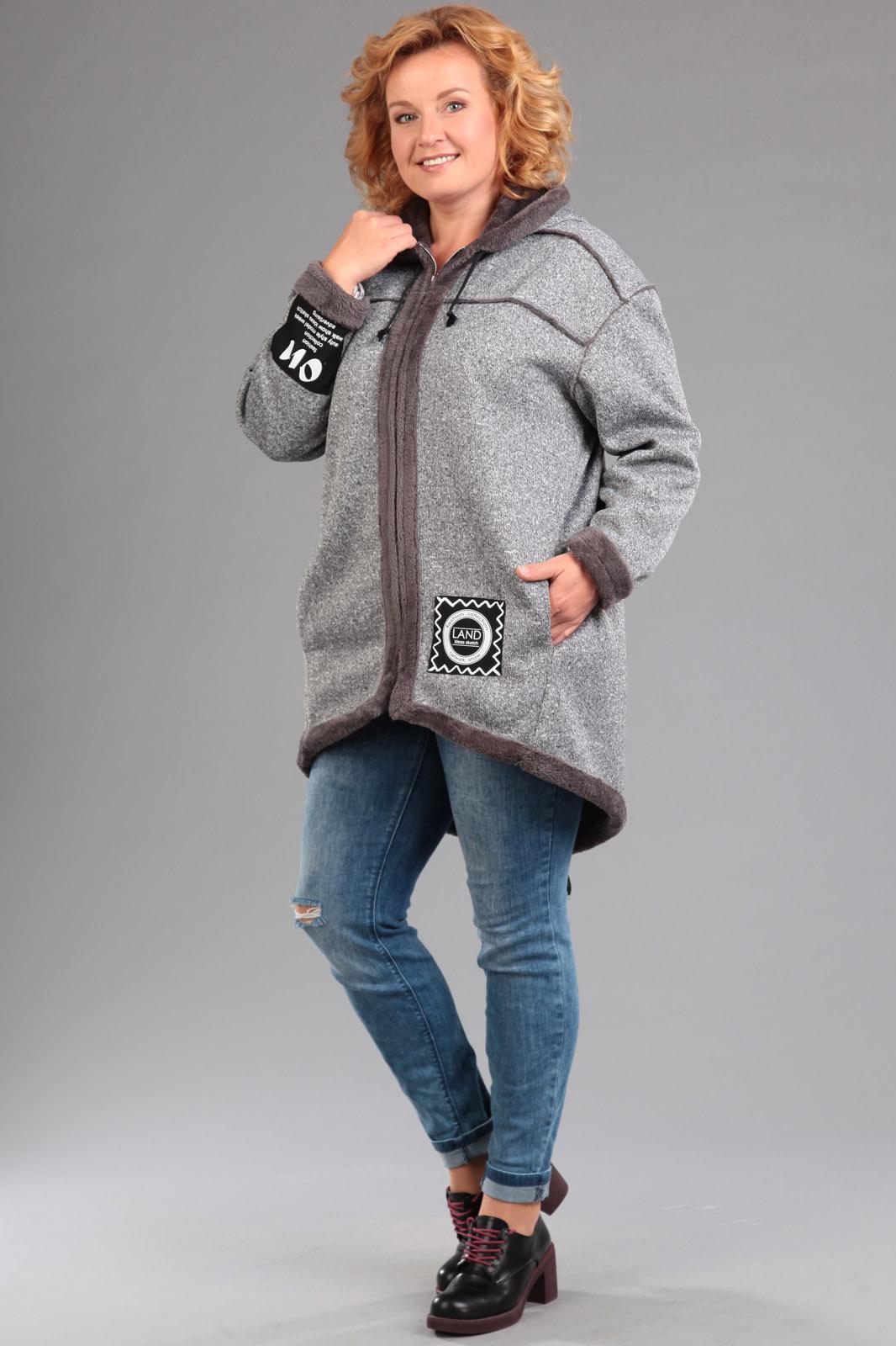 Купить Пальто Эдем, 1257 темно-серый, Беларусь