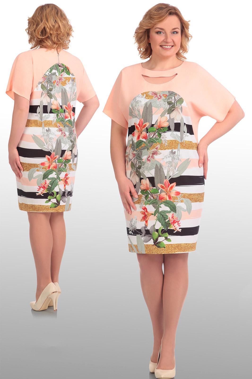 Платье Svt-Fashion, 405 светло-розовый, Беларусь  - купить со скидкой