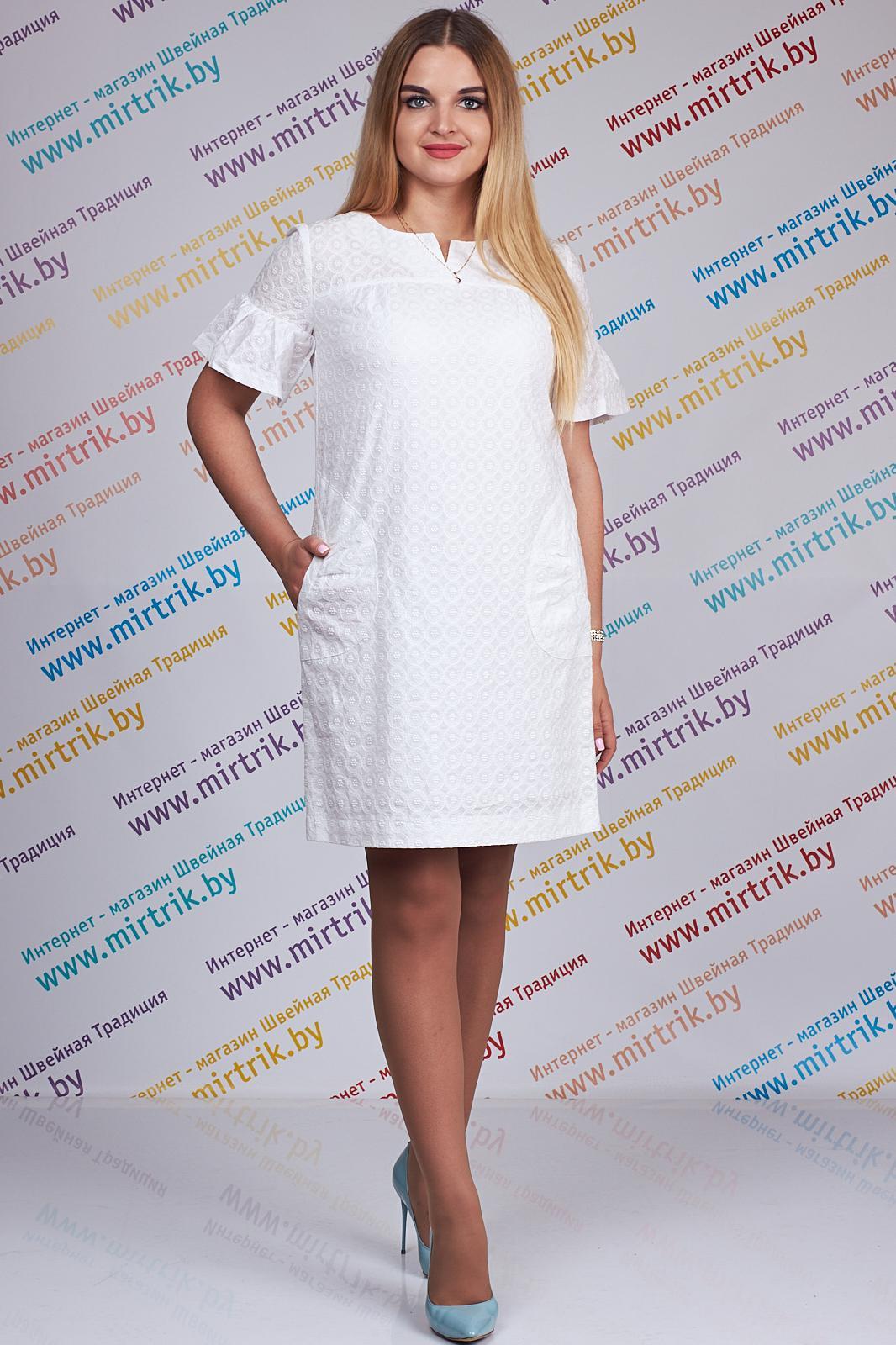 Купить Платье Edibor, 1063 белый, Беларусь