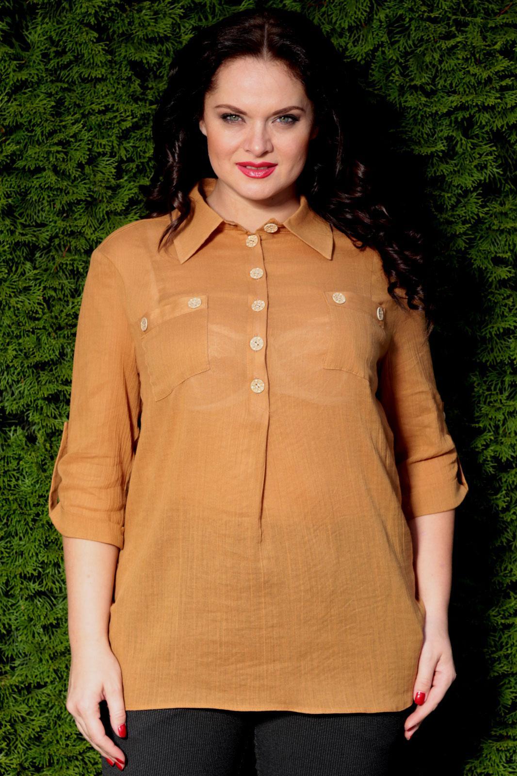 Блузка рубашечного покроя с доставкой