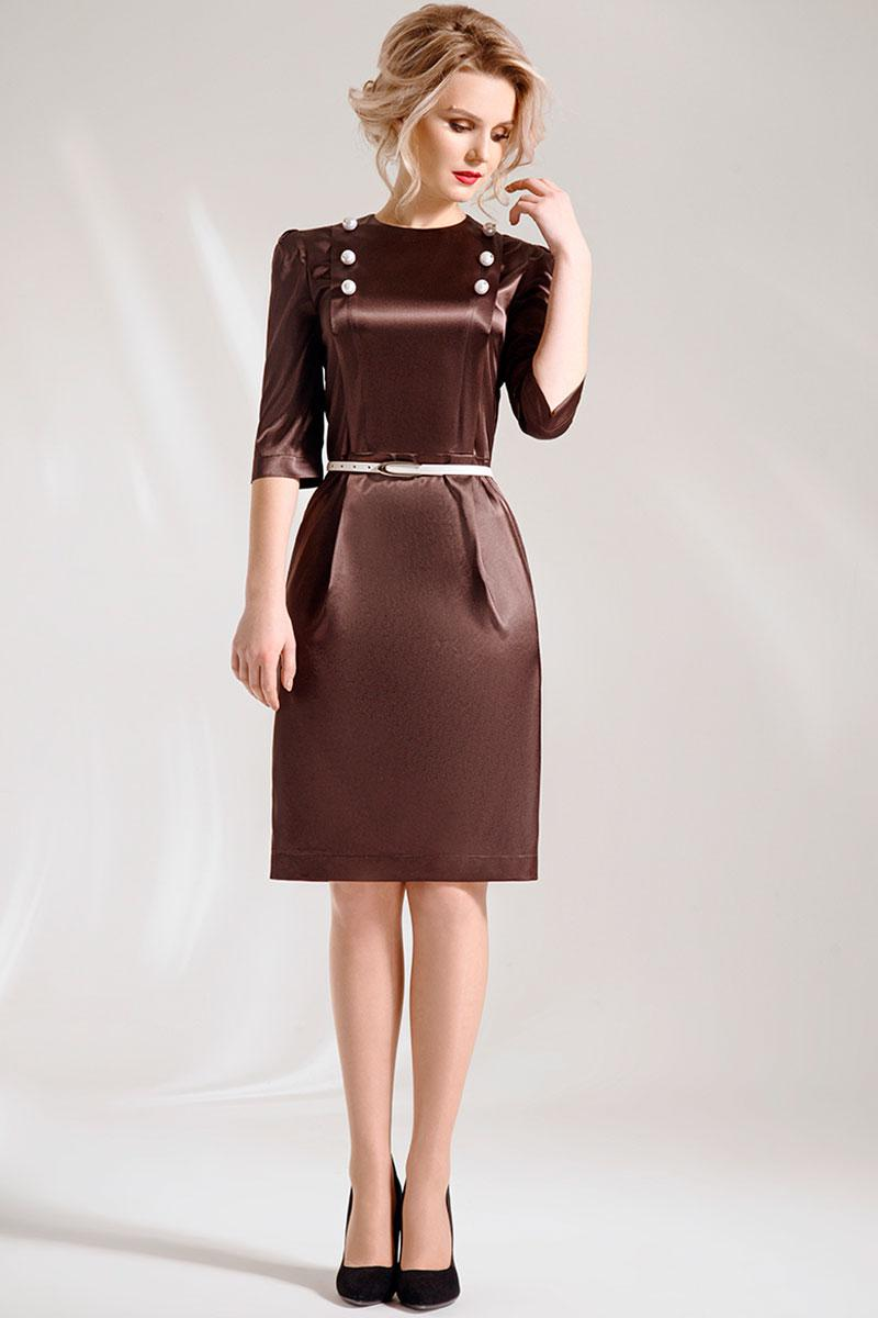 Купить Нарядное Платье Рукавом