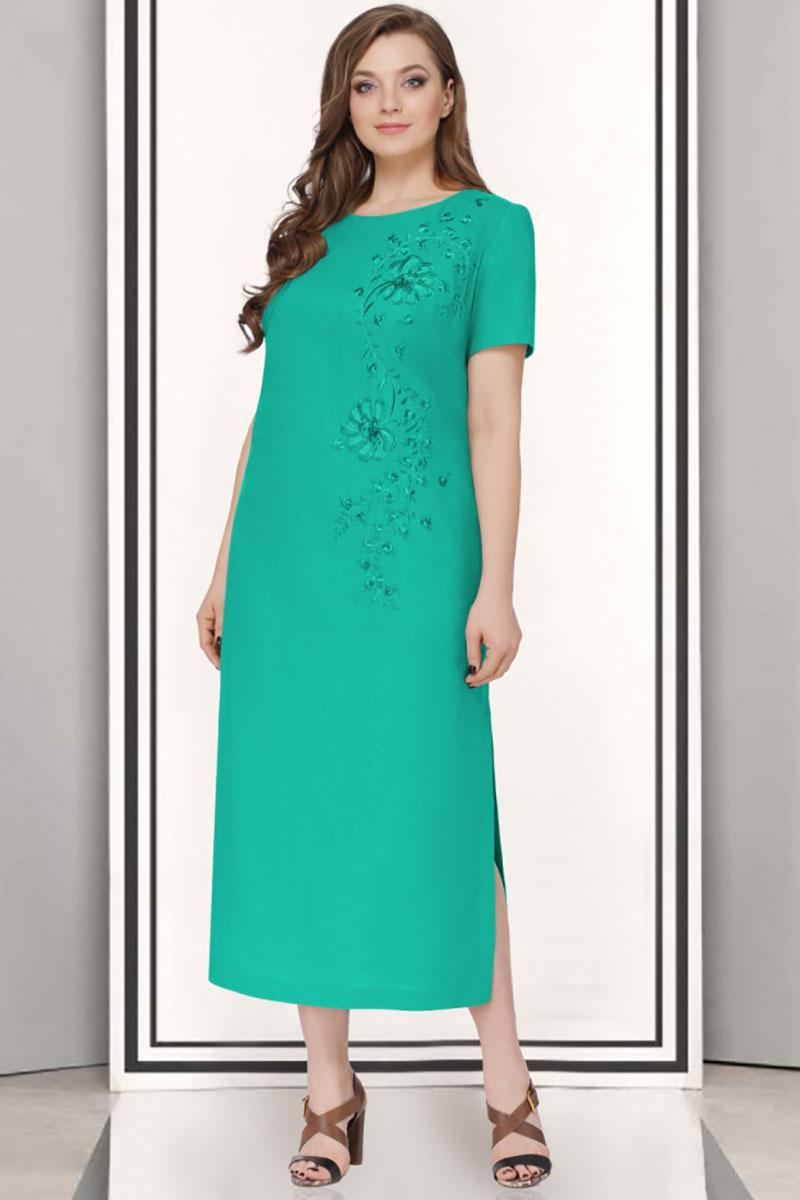 Купить Платье Таиер, 623-5 зеленый, Беларусь