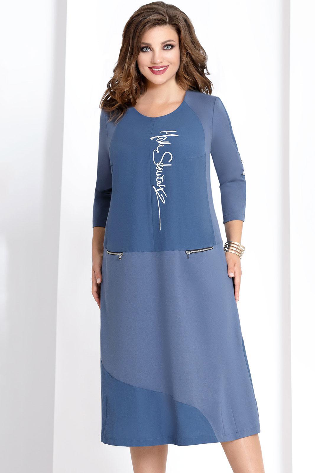 Купить Платье Vittoria Queen, 6593/1 синий, Беларусь
