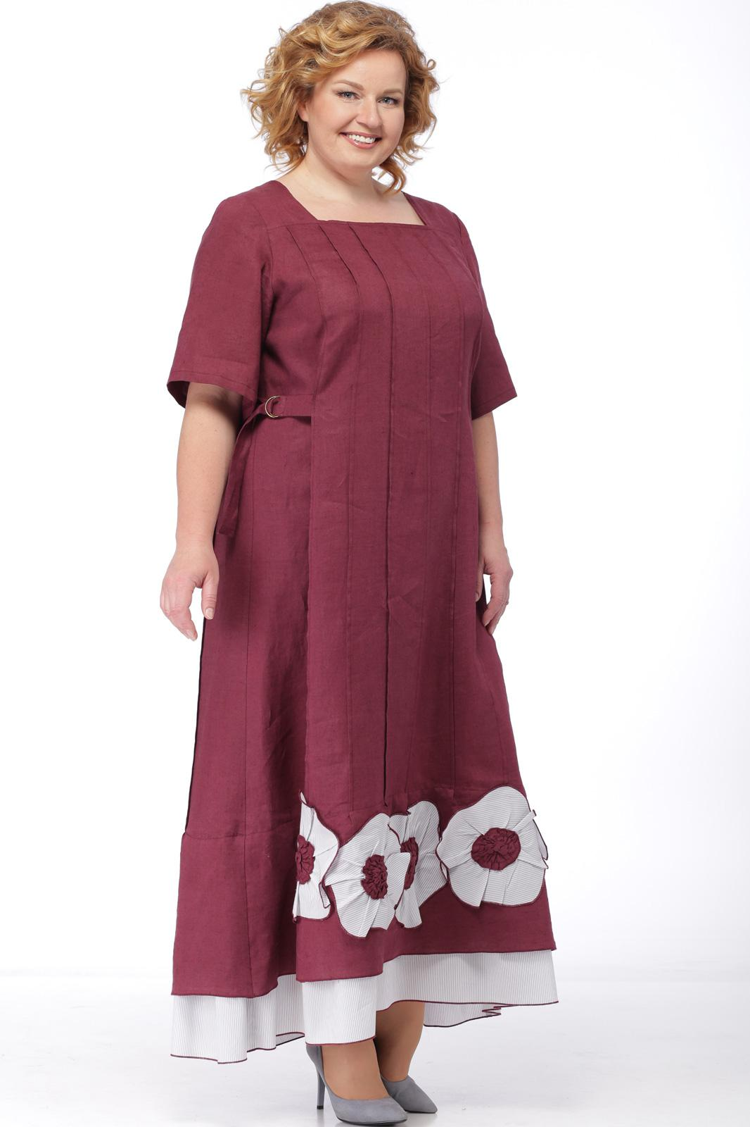 Купить Платье Michel Chic, 698 бордо, Беларусь