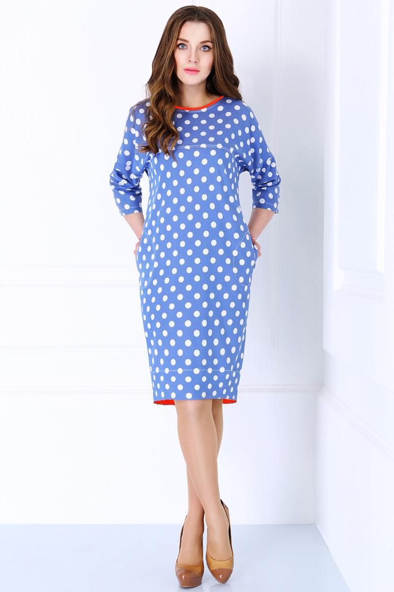 Купить Платье Matini, 3980 горохи с красным, Беларусь