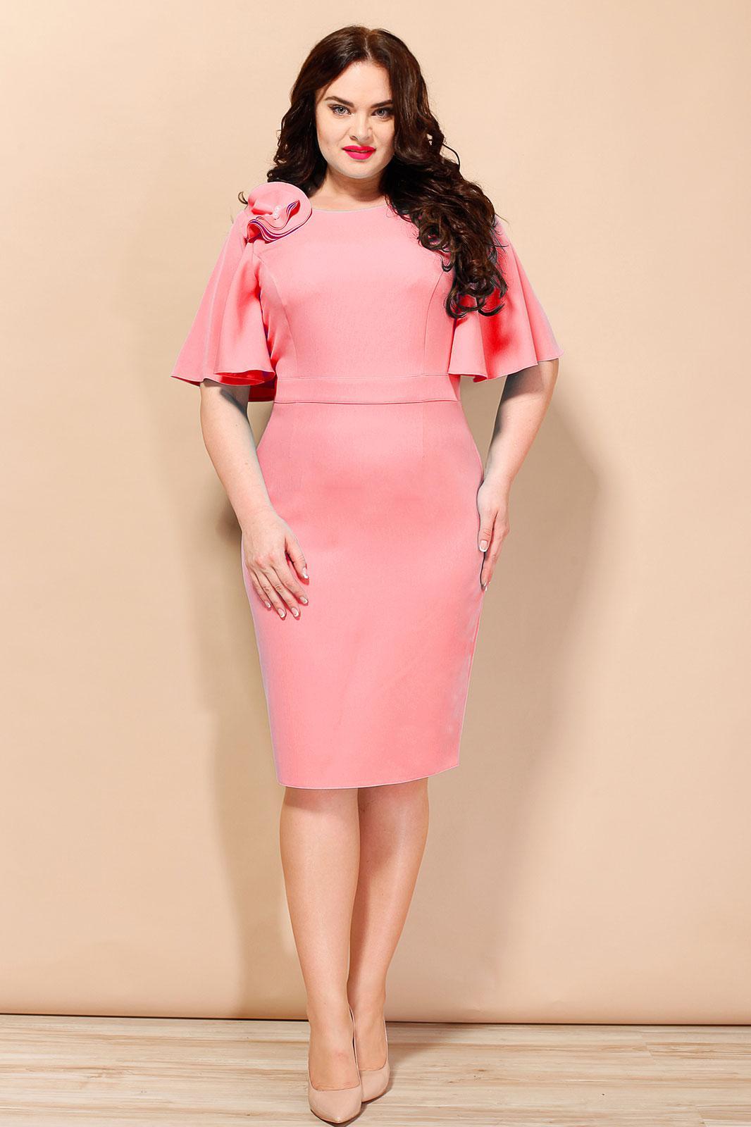Купить Платье Lady Secret, 3407 коралловый, Беларусь