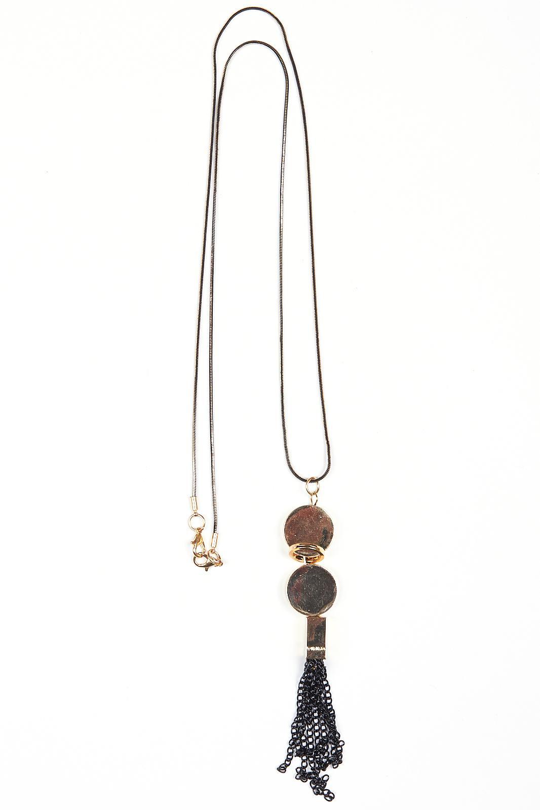 Купить Подвеска Fashion Jewelry, Подвеска 1712 золото+черный, Китай