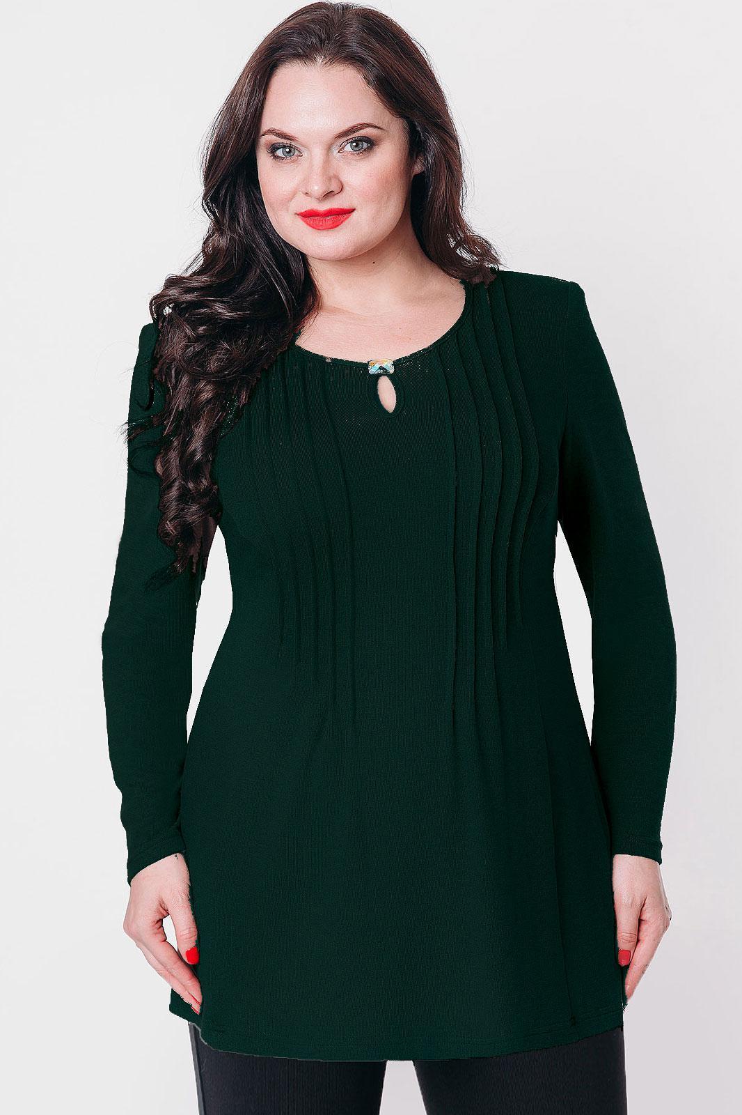 Купить Блузка Дали, 448 зеленый, Беларусь