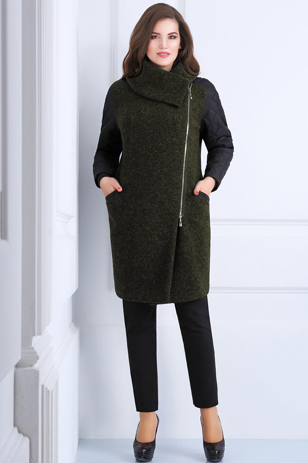 Купить Пальто Matini, 2999 с зеленым, Беларусь