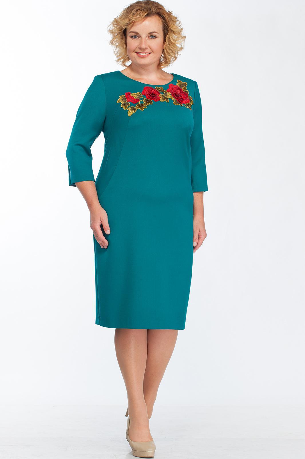 Купить Платье Bonna Image, 265 Бирюзовый, Беларусь