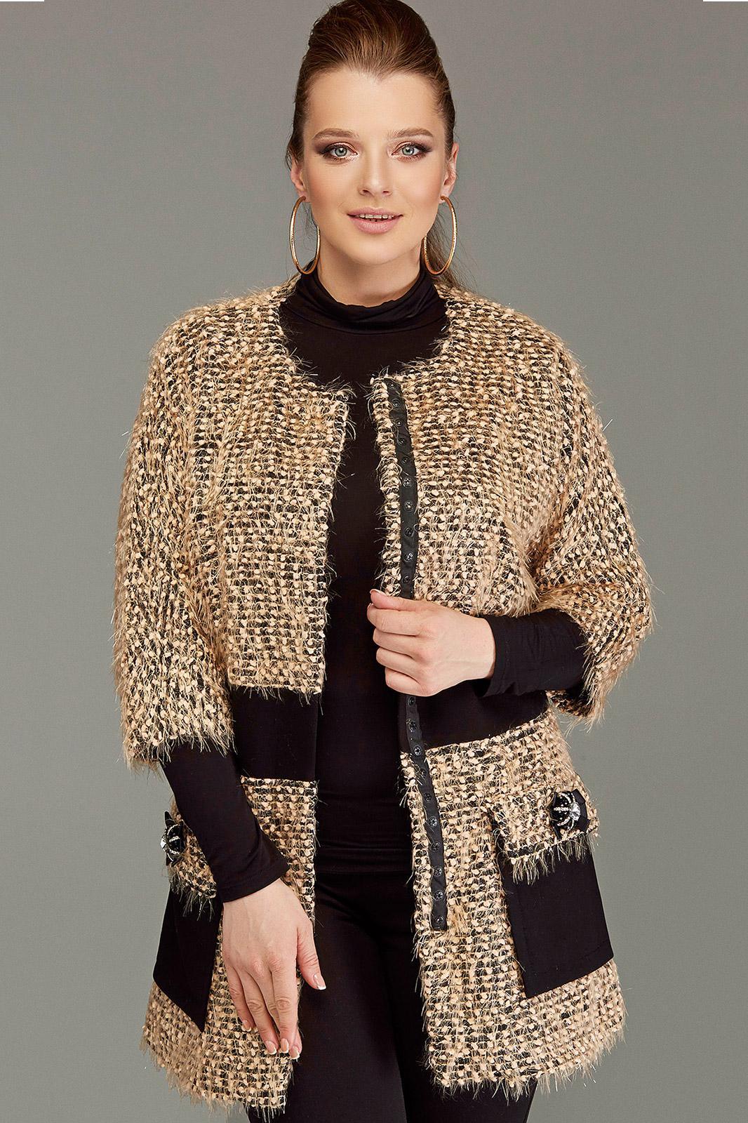 Купить со скидкой Пальто Diliafashion
