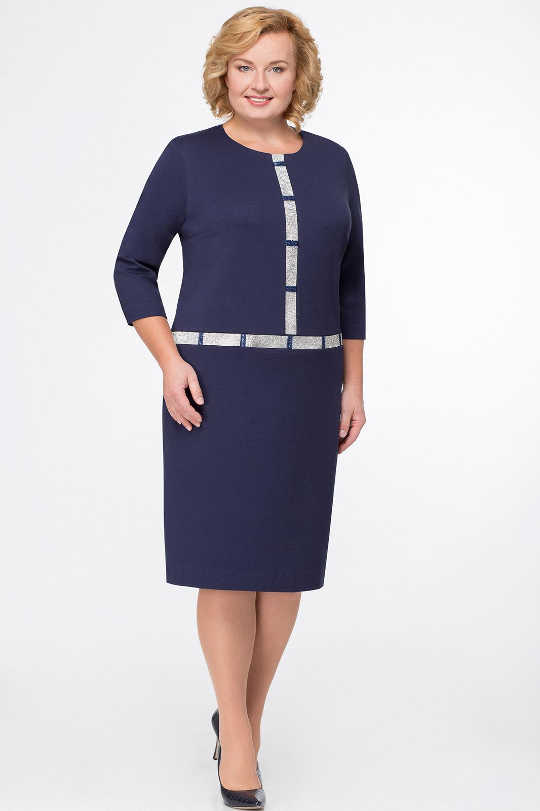 Купить Платье Svetlana Style, 1003 темно-синий, Беларусь