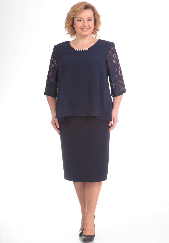 Купить Платье Pretty, 534 темно-синий, Беларусь