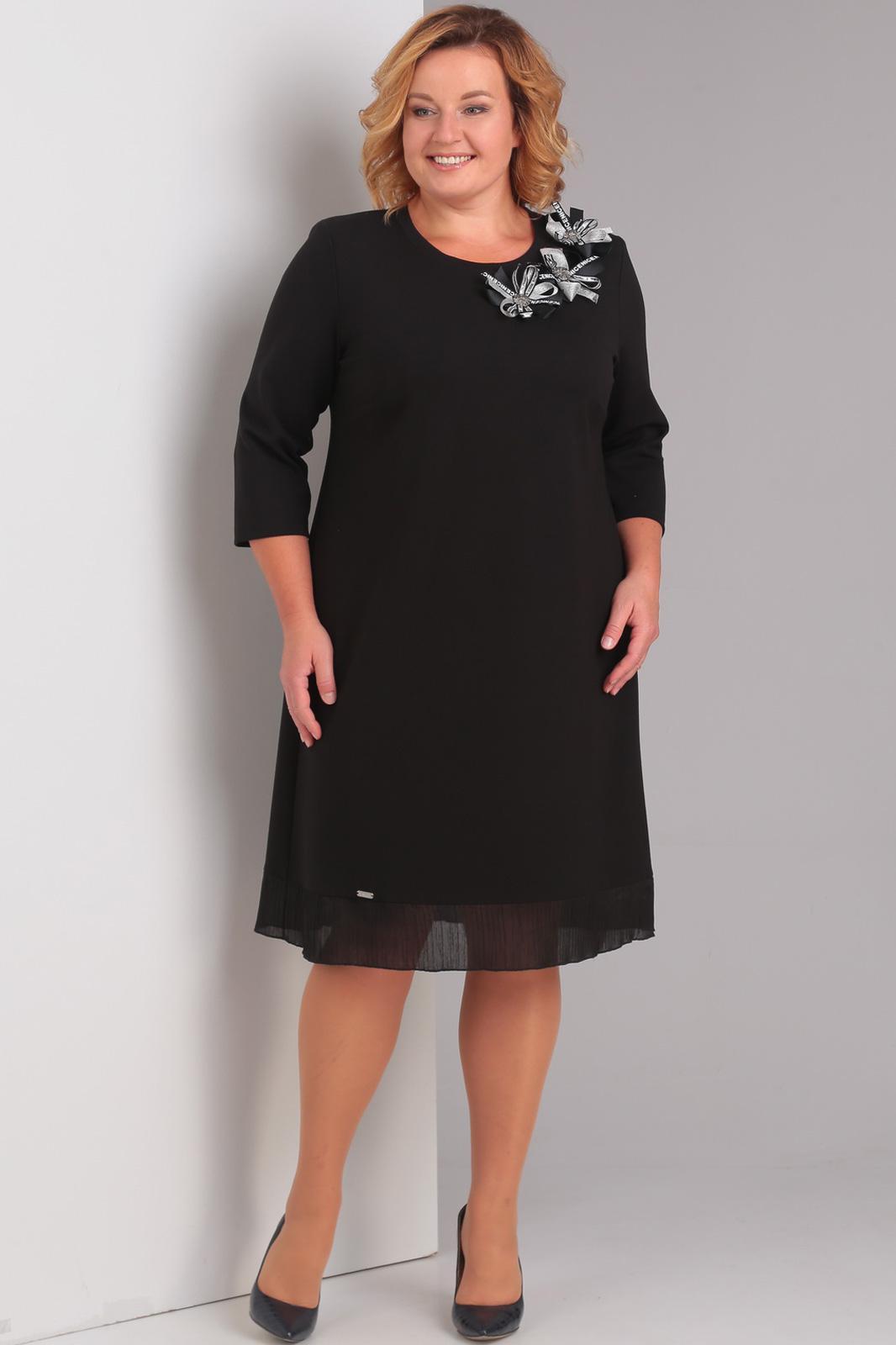 Купить Платье Диамант, 1336 чёрный, Беларусь