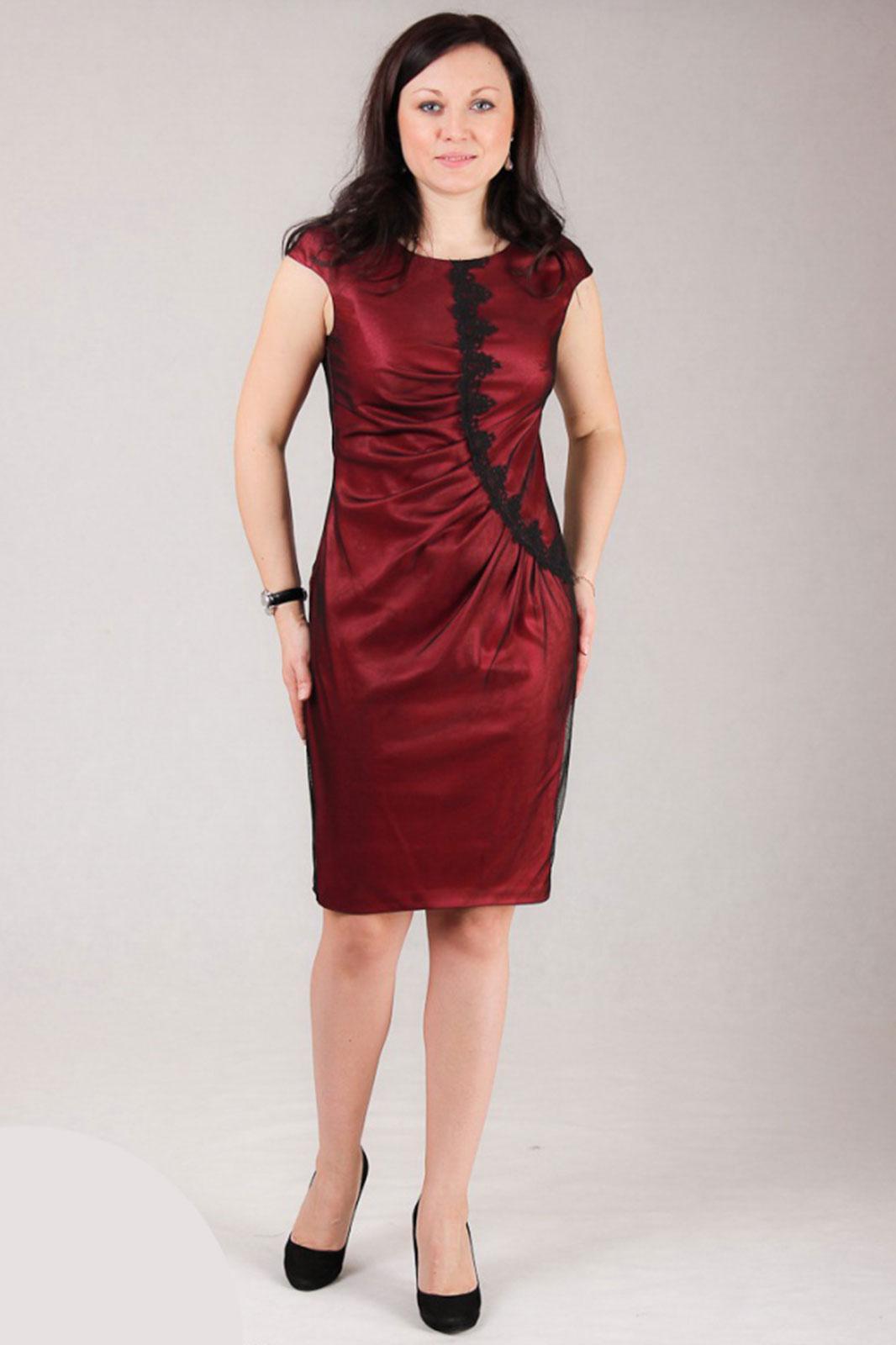 Платье Michel Chic, 477 бордо, Беларусь  - купить со скидкой
