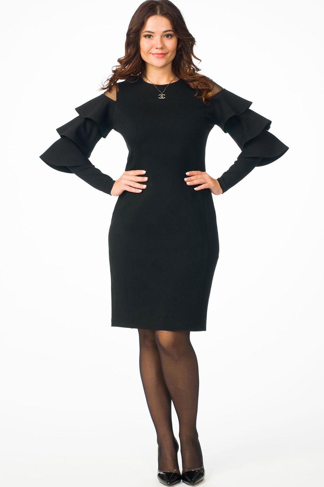 Купить Платье Melissena, 809 чёрный, Беларусь