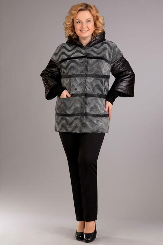 Купить Куртка Ива, 689 серебристый, Беларусь