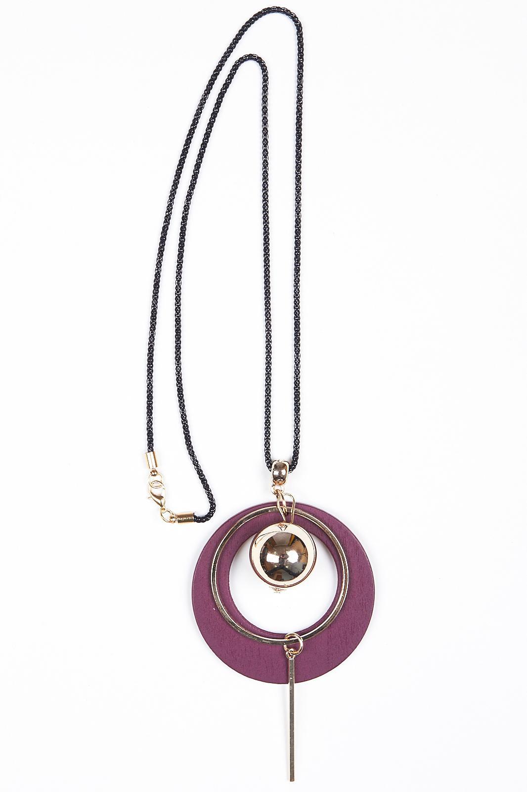 Купить Подвеска Fashion Jewelry, Подвеска 9703 золото+бордовый, Китай