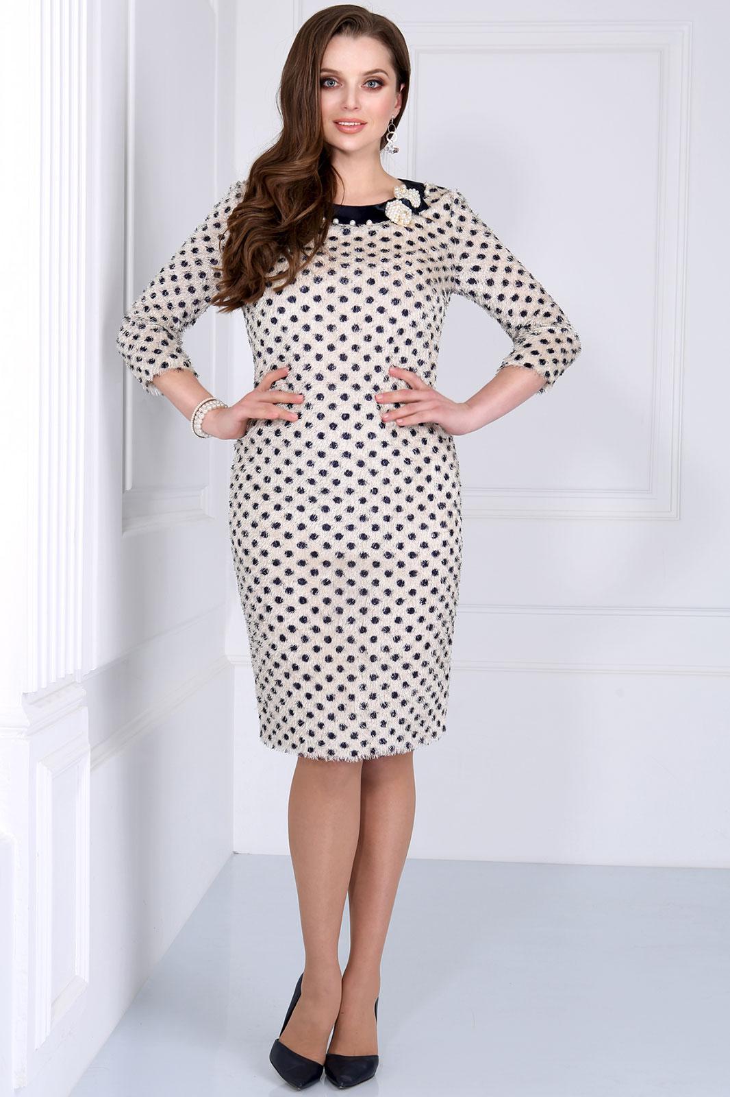 Платье Matini, 31039 горохи на светлом, Беларусь  - купить со скидкой