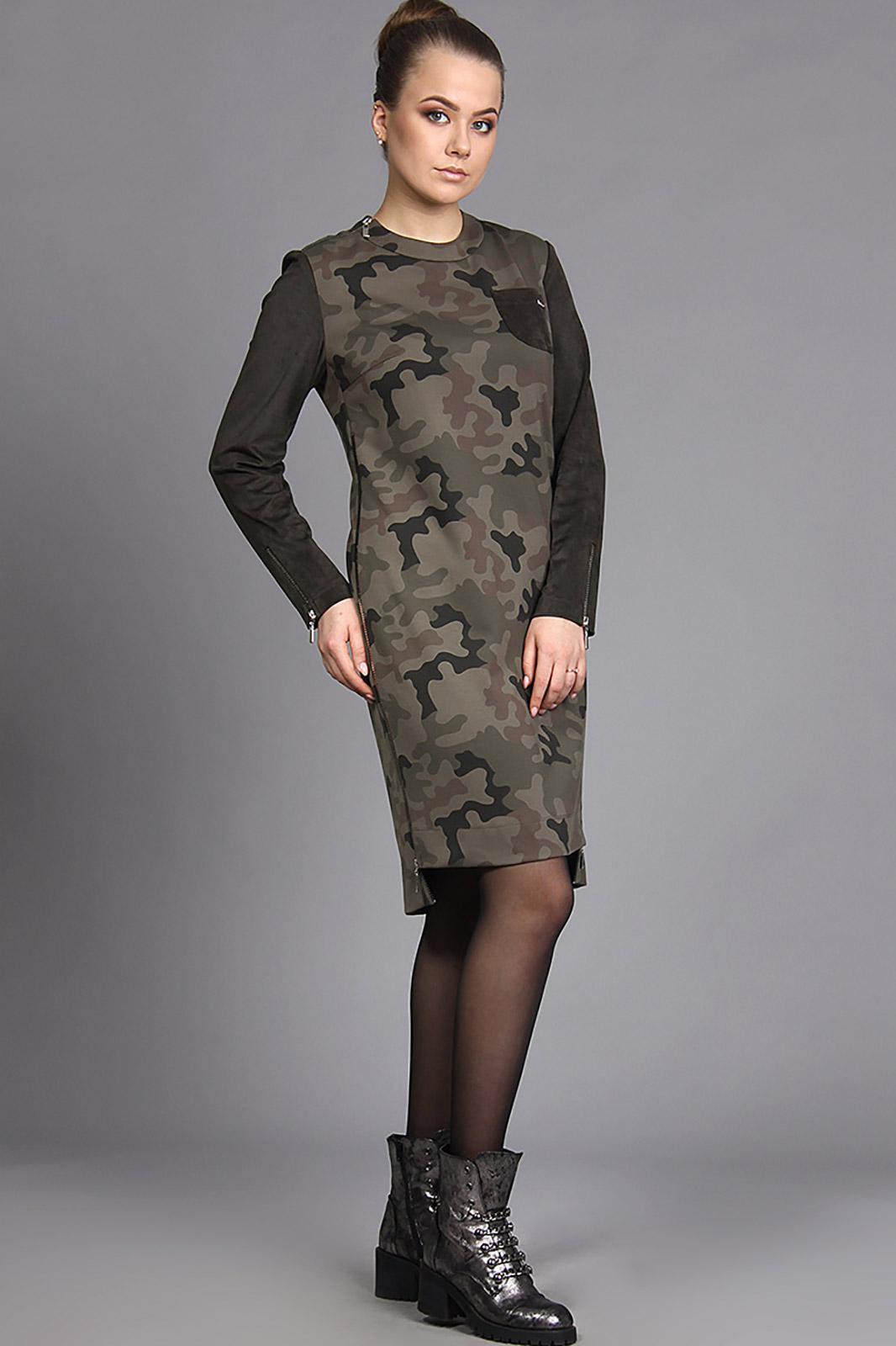 Платье Fantazia Mod, 2999 хаки, Беларусь  - купить со скидкой