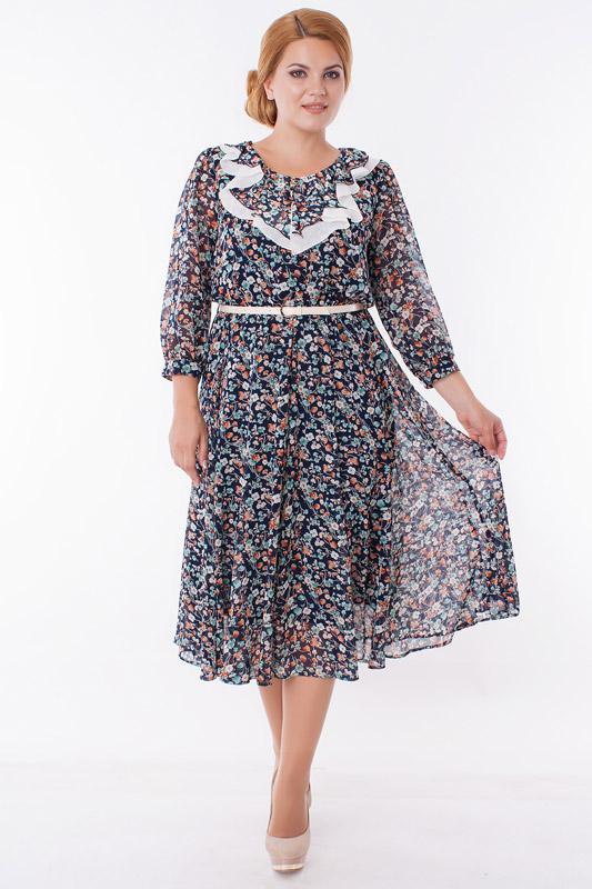 Купить Платье Дали, 519 цветы, Беларусь