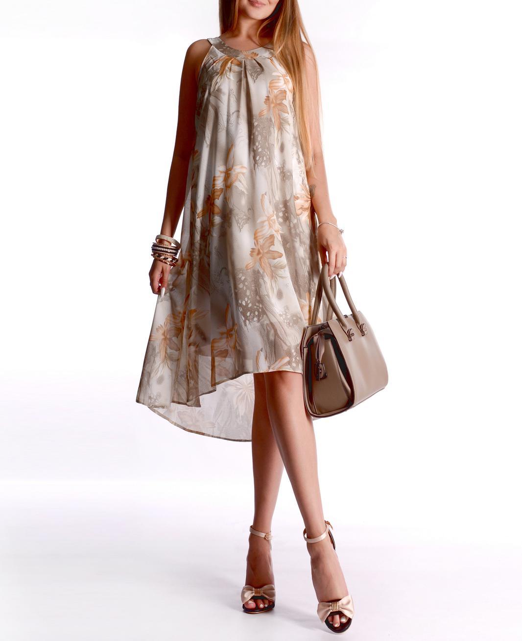 Легкие шифоновые платья фото