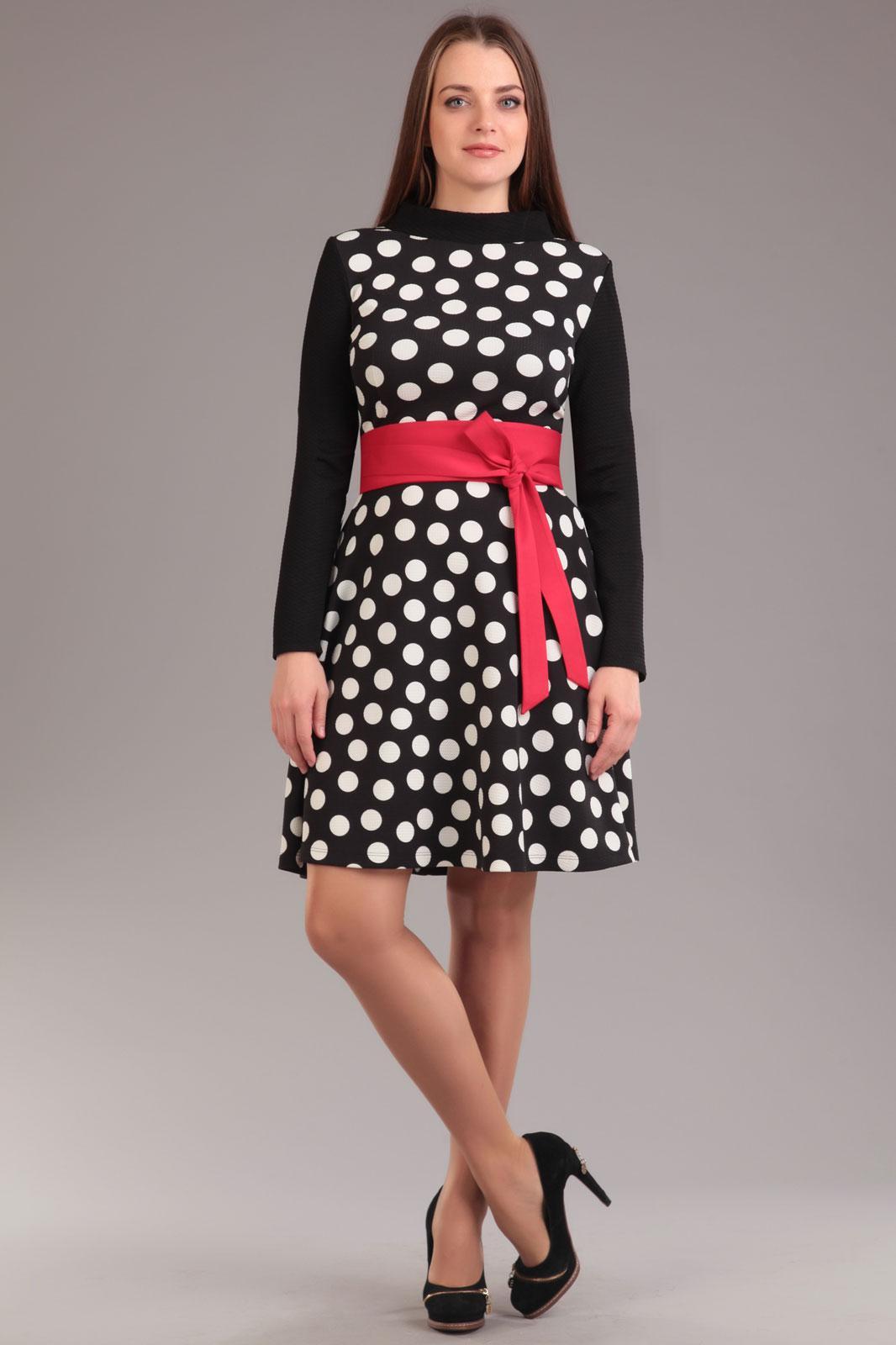 Купить Платье Ива, 759 горохи, Беларусь