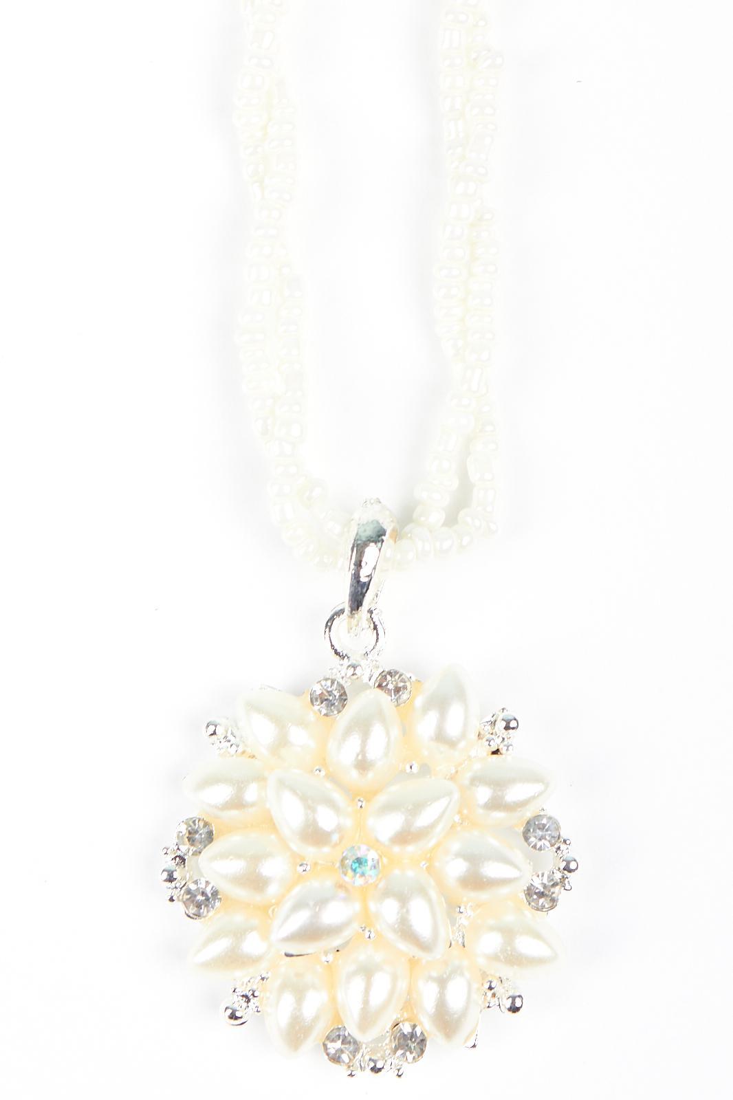 Купить Подвеска Fashion Jewelry, Подвеска цветок 2 белый, Китай