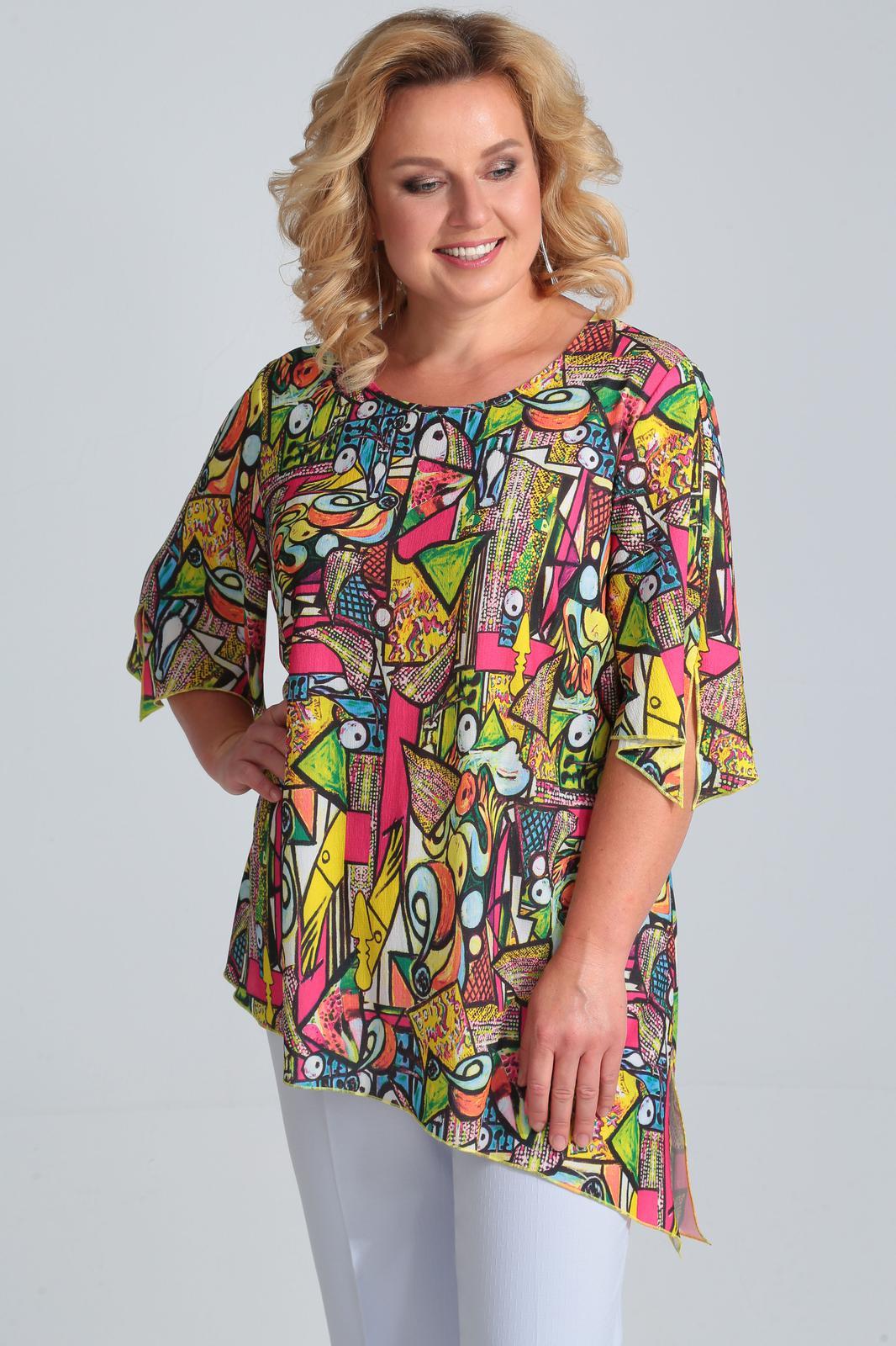 019e20fc47b408f Купить блузку большого размера в Минске. Блузки для полных женщин