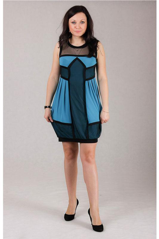 Купить Платье Michel Chic, 481 голубой, Беларусь