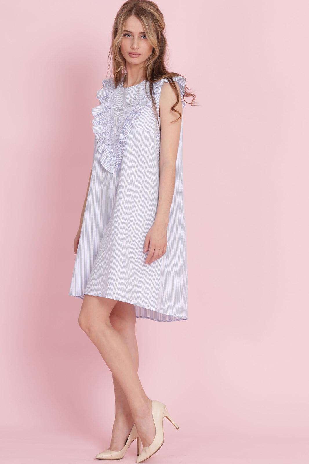 Купить Платье Edibor, 1082 голубой, Беларусь