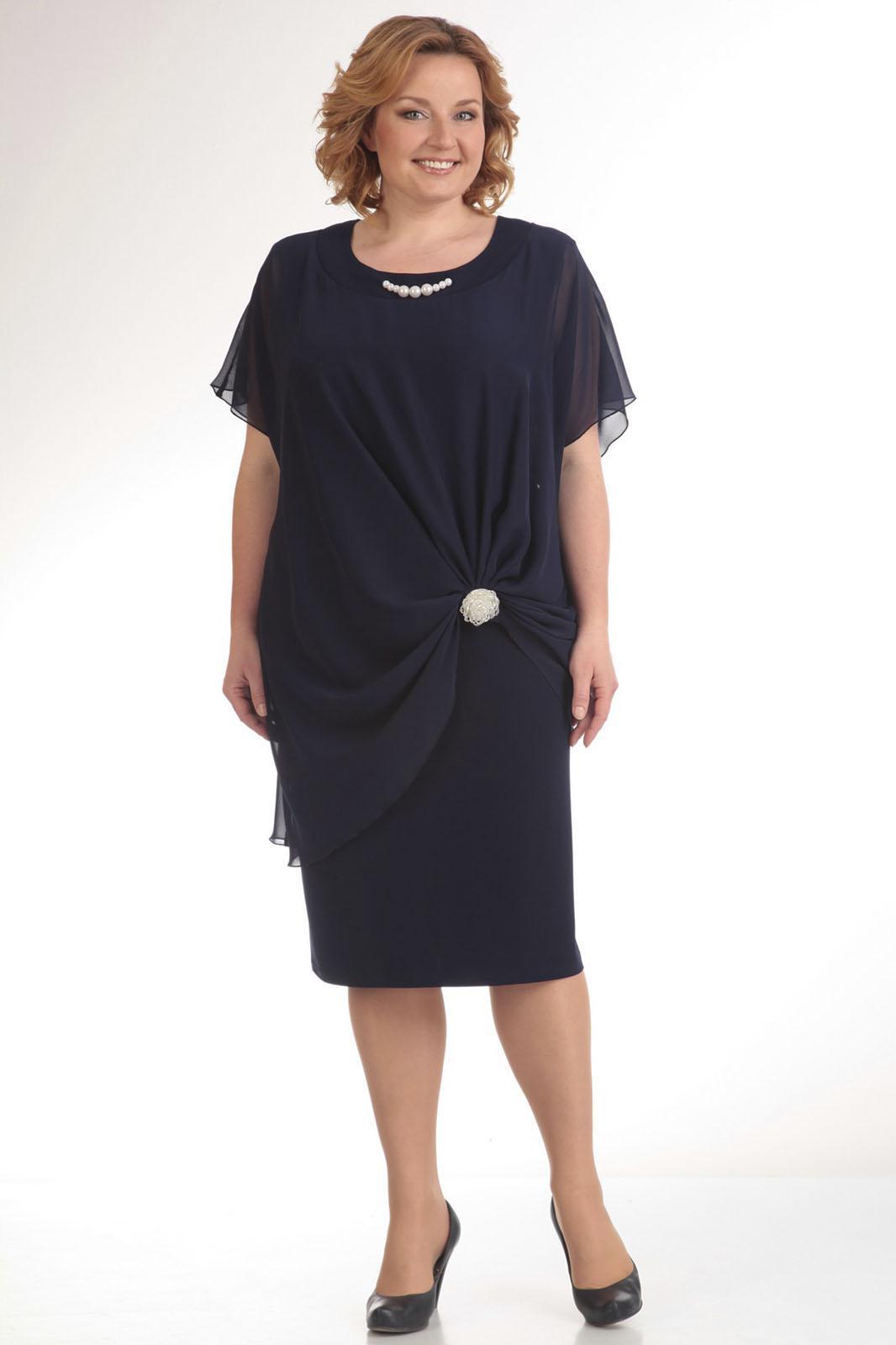 Купить Платье Pretty, 393 темно-синий, Беларусь