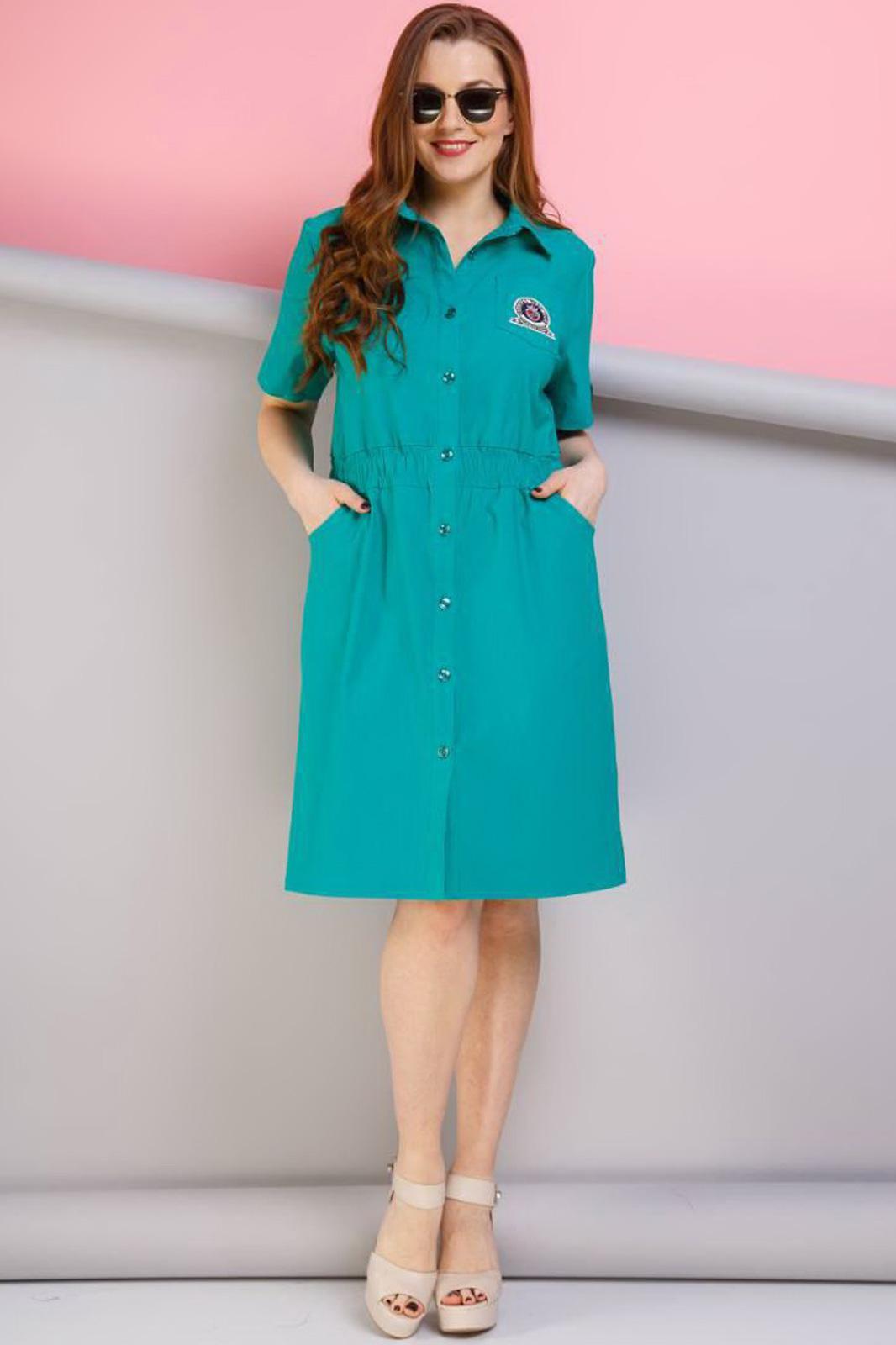 Купить Платье Anastasia, 189 тёмно-бирюзовый, Беларусь