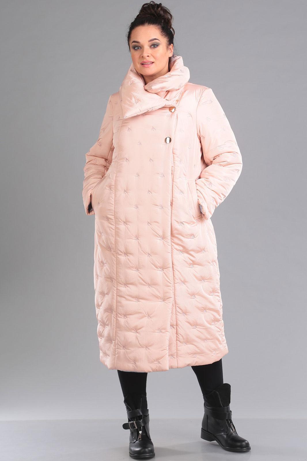 Купить Пальто Ива, 1035 светло-розовый, Беларусь