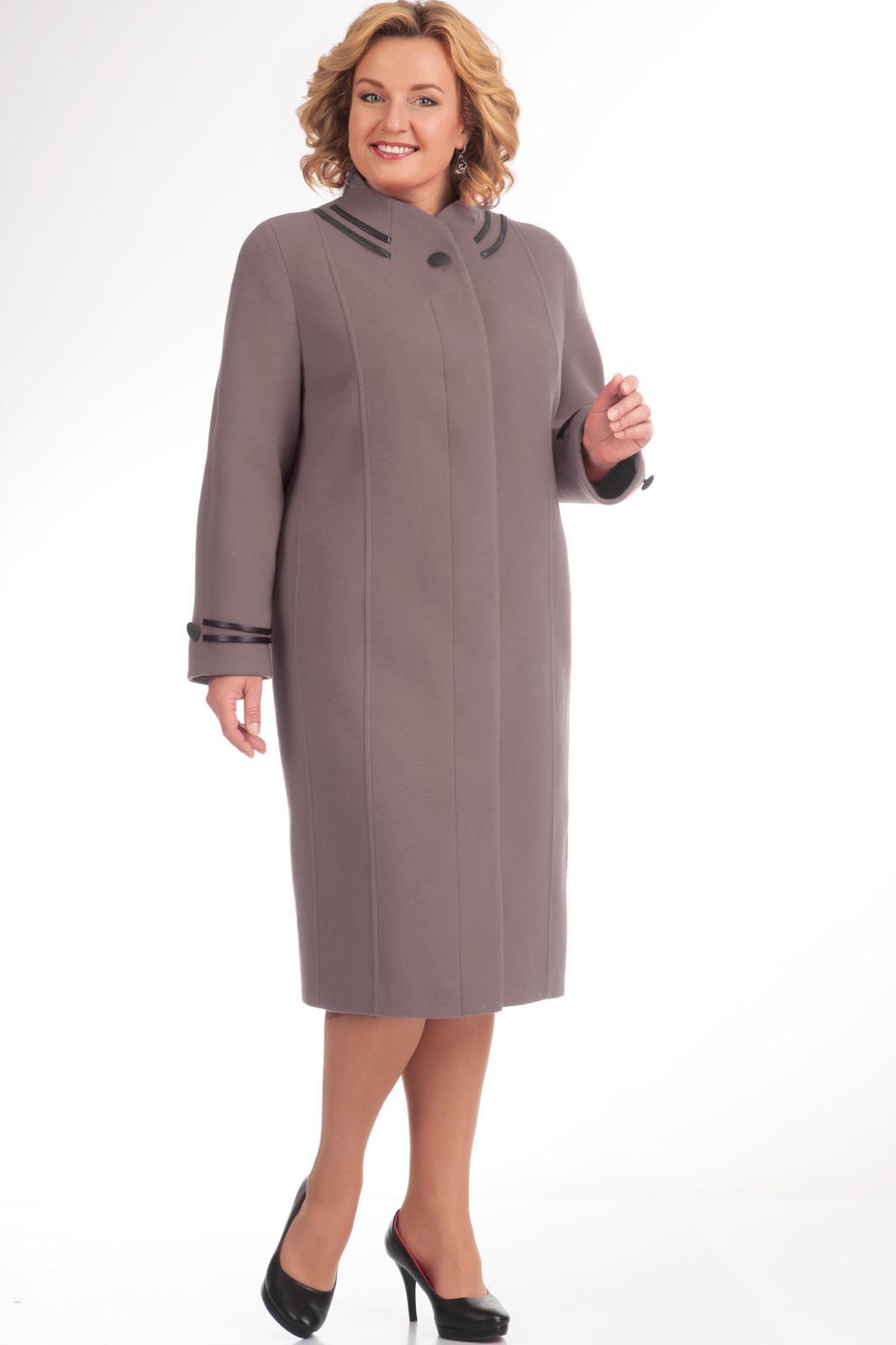 Купить Пальто Диамант, 1105 серо-сиреневый, Беларусь