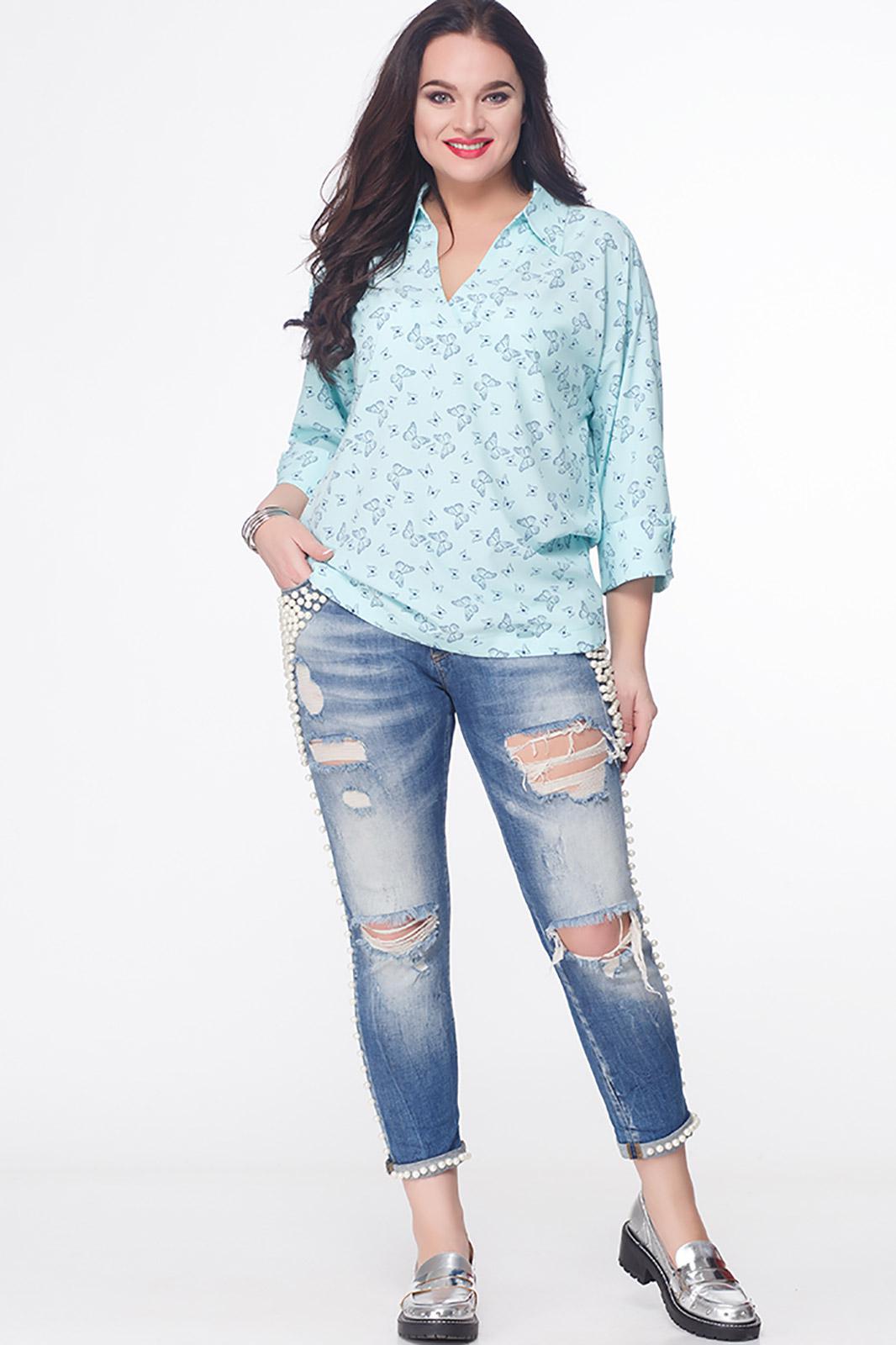 Купить со скидкой Блузка Erika Style