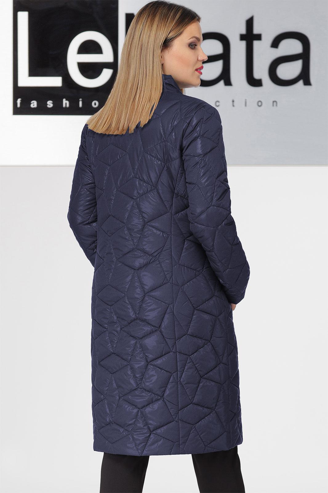 Пальто LeNata, темно-синий (модель 11932) — Белорусский трикотаж в ... 9c61519e52d
