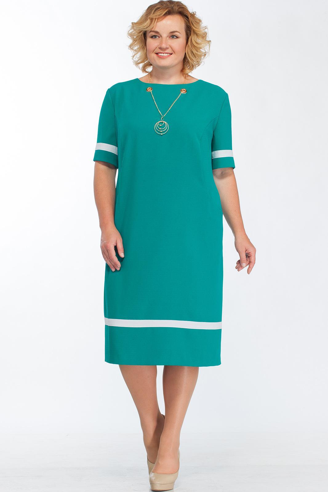 Купить Платье Bonna Image, 252 Бирюзовый, Беларусь