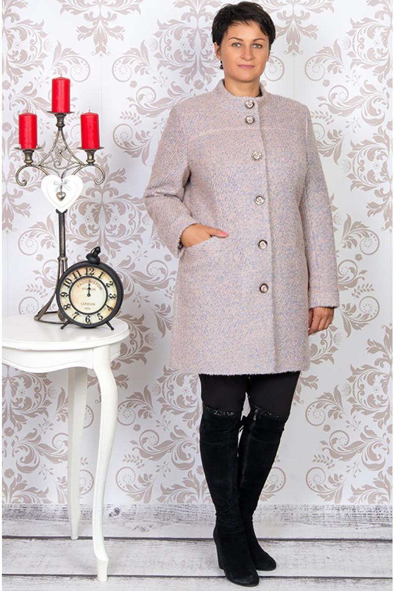 Купить Пальто Tricotex Style, 1661 розовые тона, Беларусь