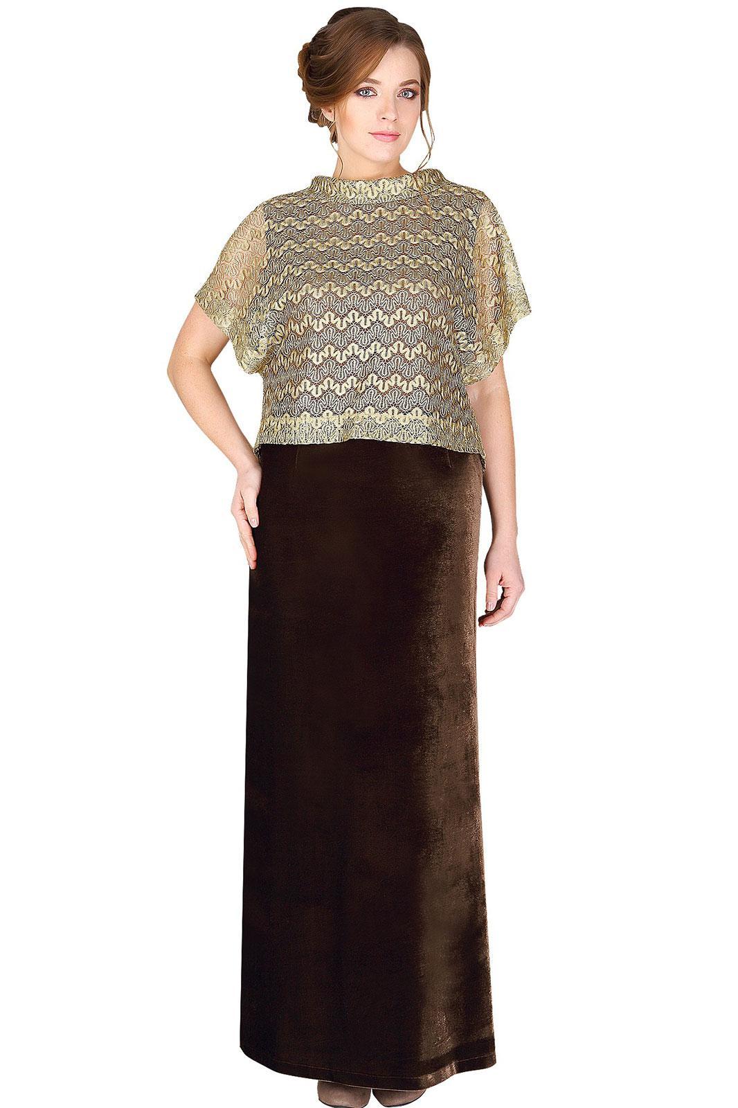 Модель 2313 коричневый+бежевый Мода-Юрс
