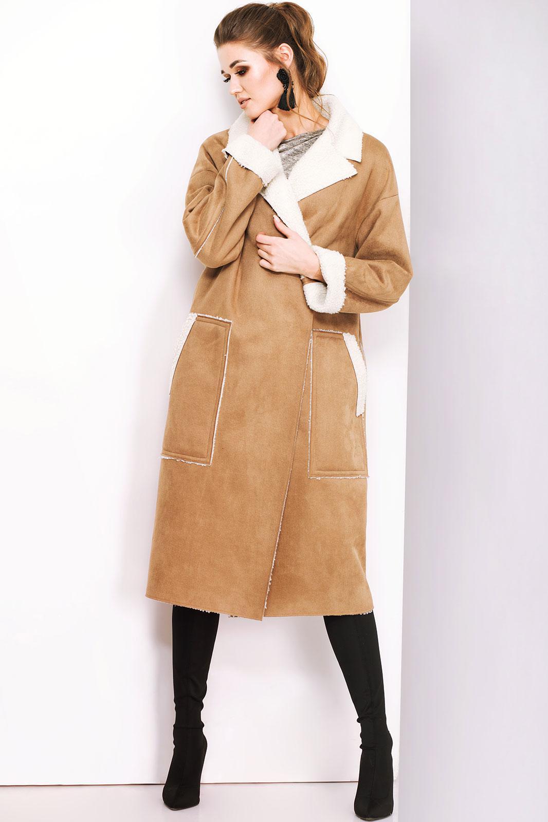 Купить Пальто Juanta, 5126 рыжий, Беларусь