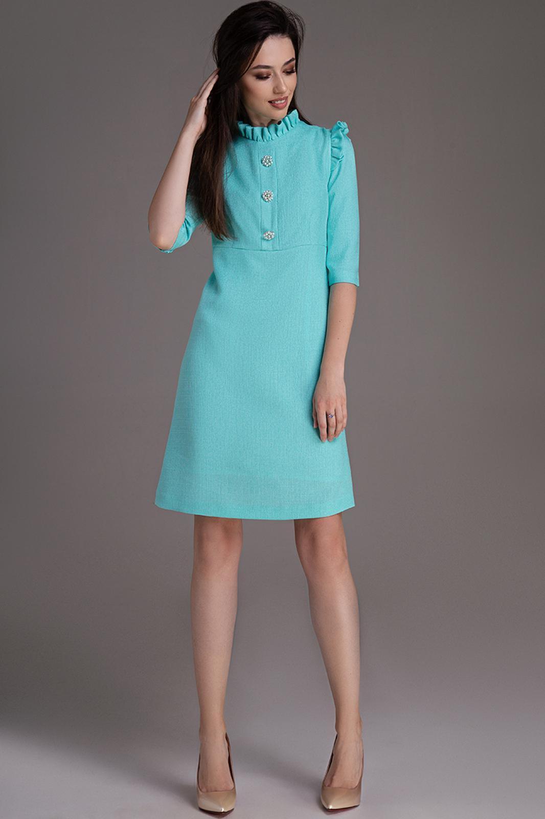 Купить Платье Dilanavip, 1217 бирюзовый, Беларусь