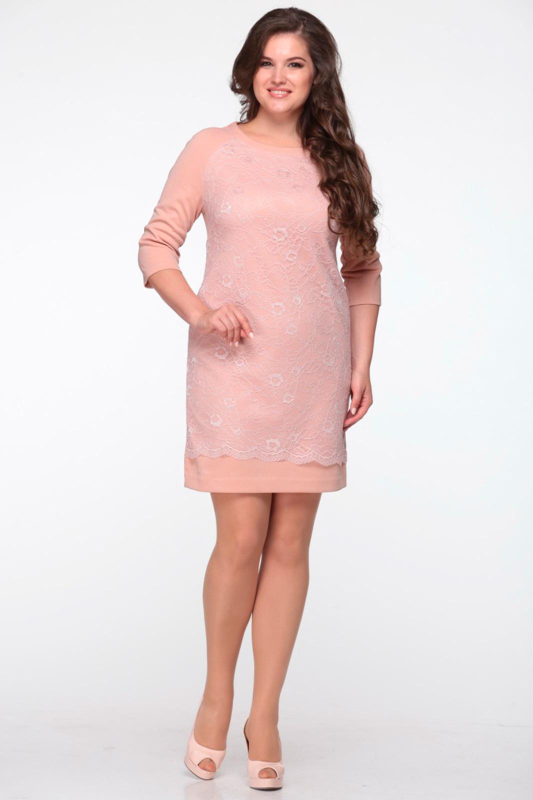 Купить Платье Michel Chic, 645 персик, Беларусь