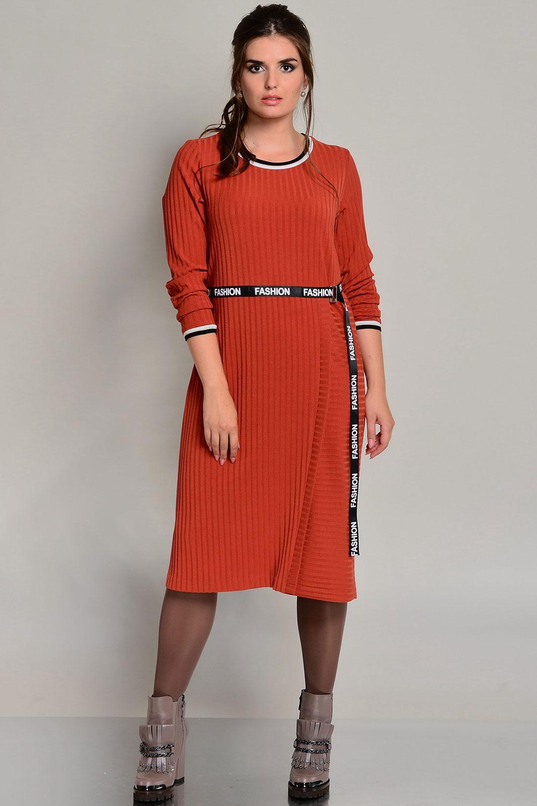 Купить Платье Faufilure, 674С терракотовый, Беларусь