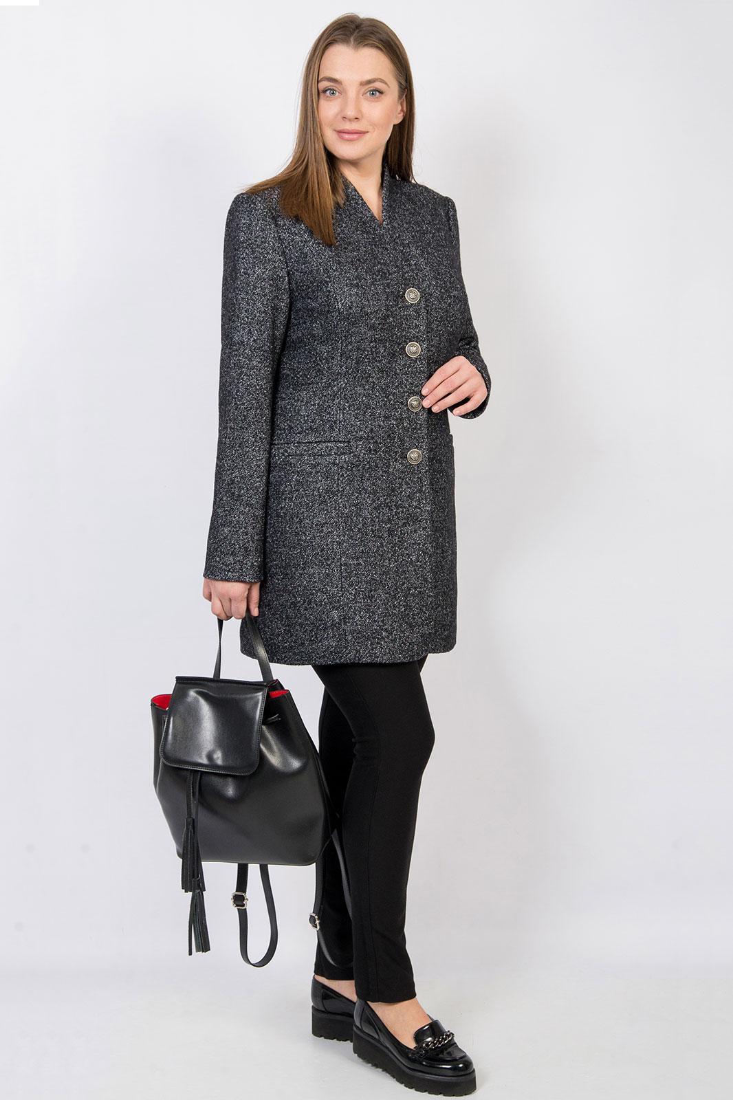 Купить Пальто Tricotex Style, 1552 темно-серый, Беларусь