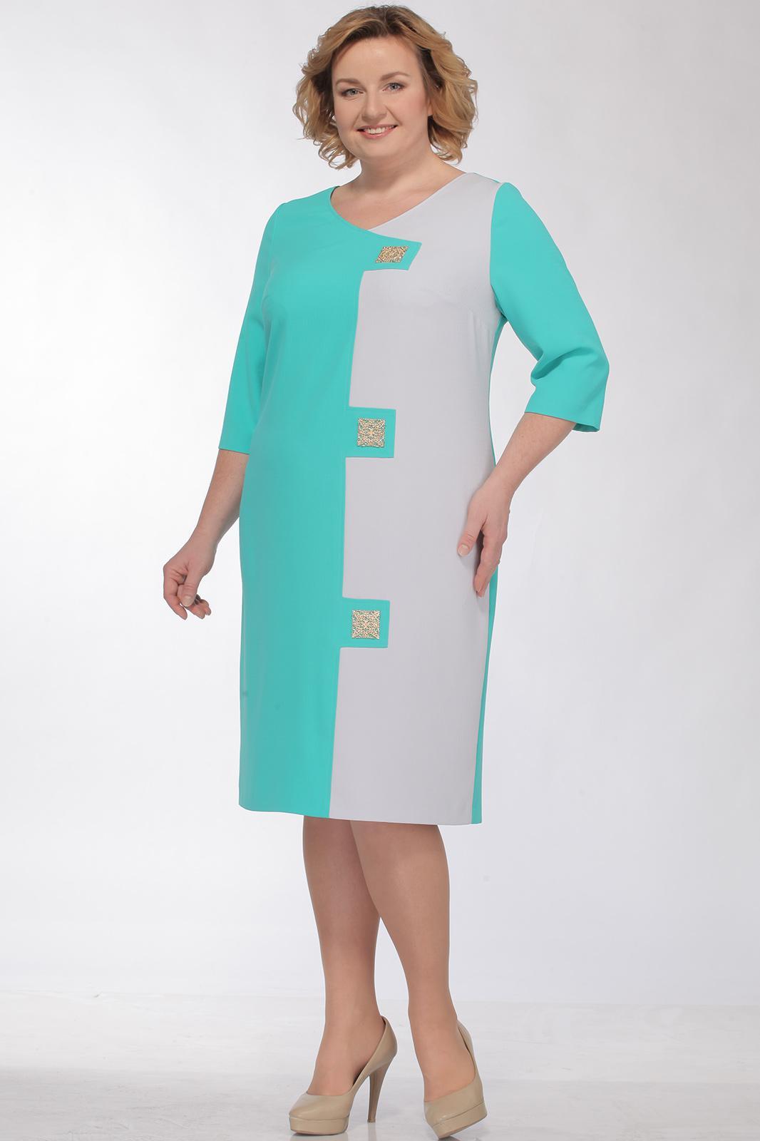 Купить Платье Bonna Image, 249 Бирюзовый, Беларусь