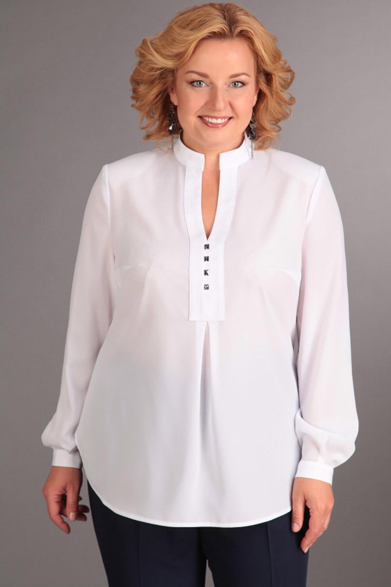 Белая блузка женская купить с доставкой
