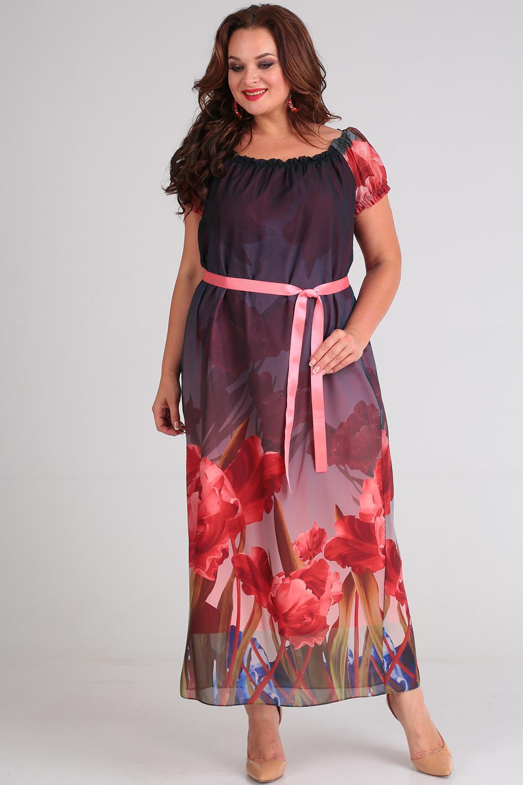 1ee3803f104a5 Купить платье большого размера в Минске. Белорусские платья для полных