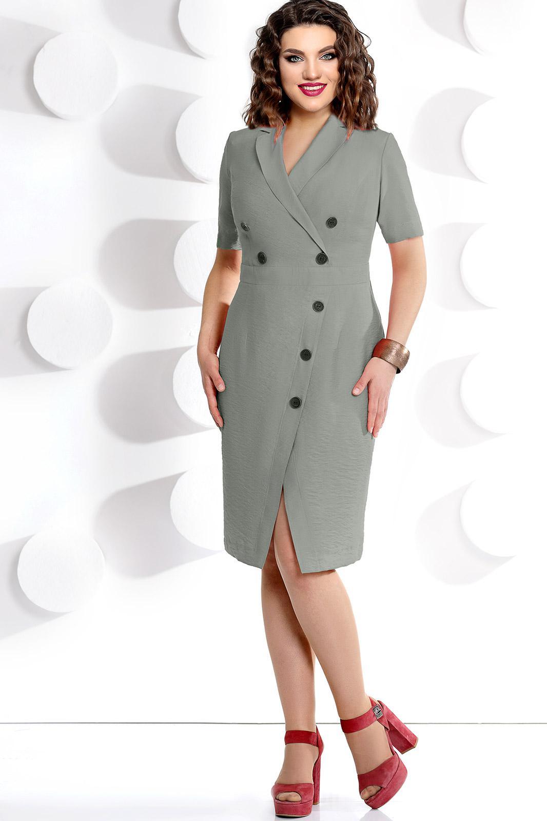 Купить Платье Мублиз, 233 серый, Беларусь