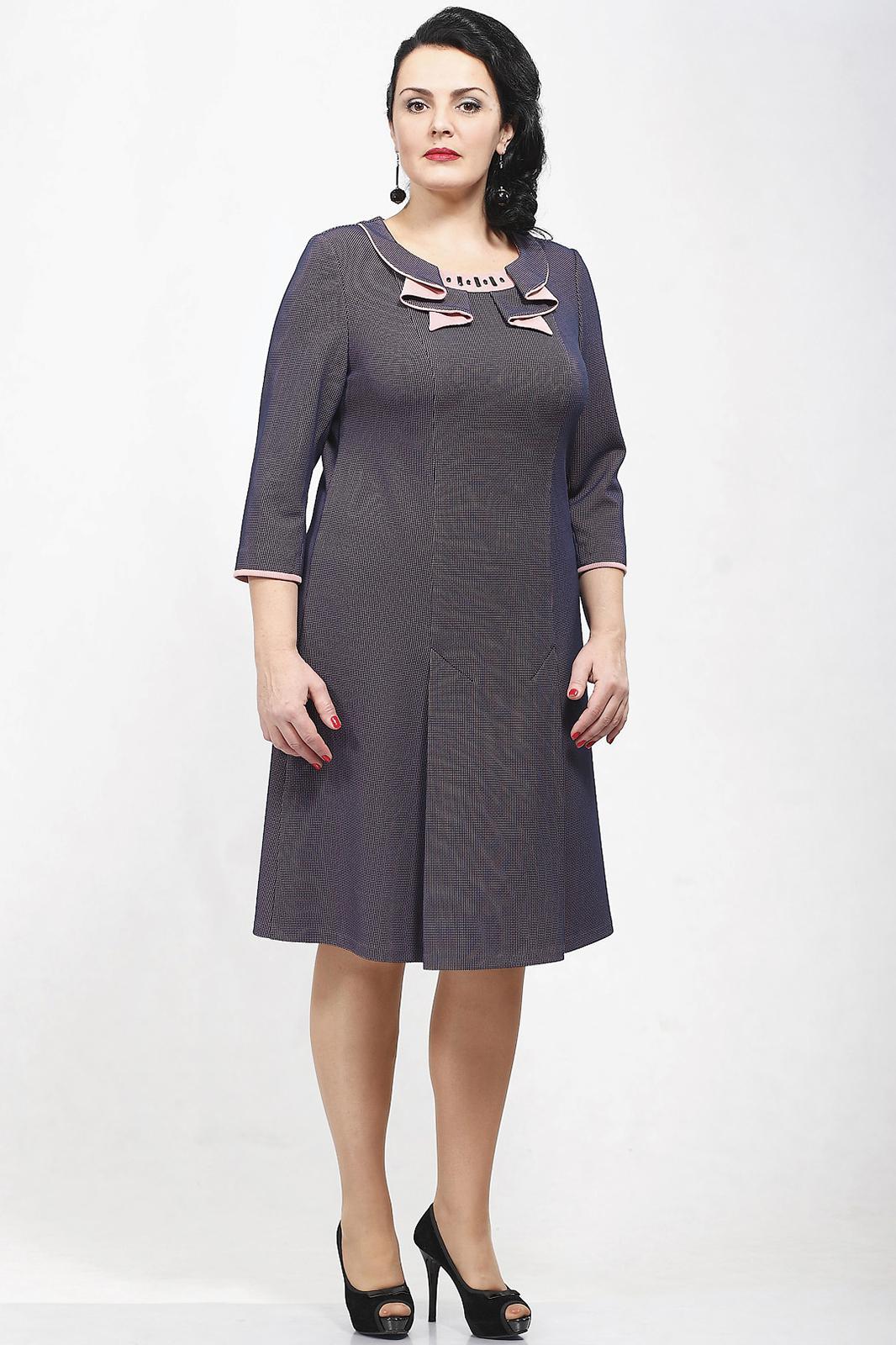 Купить Платье Madame Rita, 661 с розовым, Беларусь